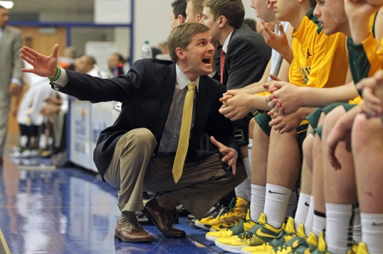 Tiger Basketball Head Coach Kevin Klein | Photo by Tim Porco