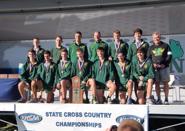 2013 Cross Country State Championship Team | Photo by Jana Bollinger