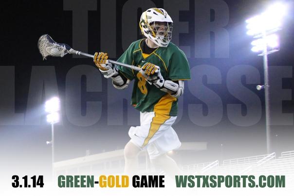 2014 Lacrosse Green Gold Game Landscape