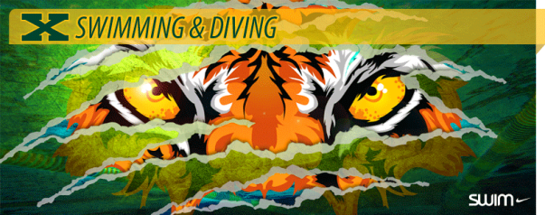 Tiger Swimming Nike Graphic