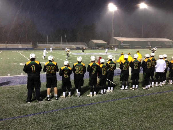 The Tigers battled the elements as well as the Knights on a snowy night in Lexington | WSTX Sports File Photo