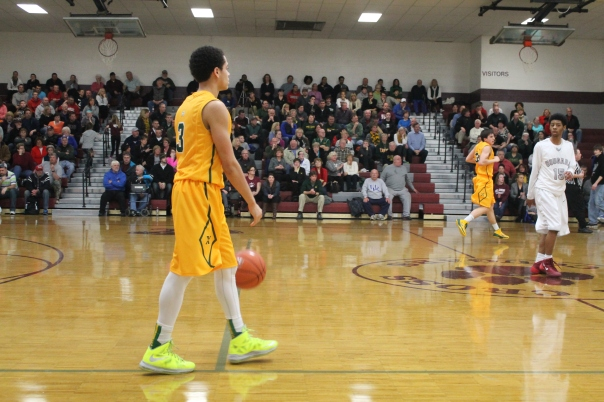 Robert shaw finished his storied St. X career with over 1,000 points scored. | Photo by Jacob Hayslip