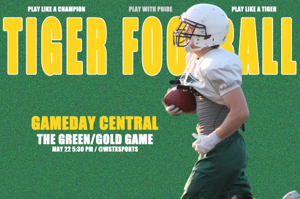 Green-Gold Game Gameday Central Graphic