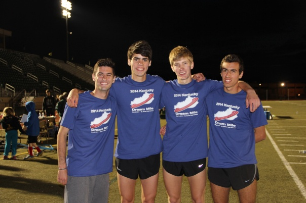 Max Mudd, William Mulloy, Ben Metzger, and Chris Streigel | Photo by Jana Bollinger