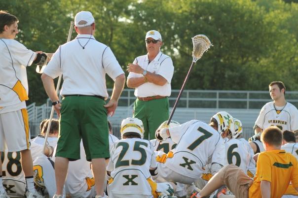 Varsity Lacrosse Head Coach Scott Howe   Photo by Jacob Hayslip