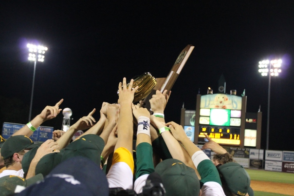 In case you forgot, the Tiger Baseball team won the state championship Saturday. | Photo by Jacob Hayslip