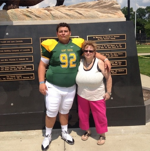 Carson Kehres and his mother! I hope she enjoys his tweets as much as we do!