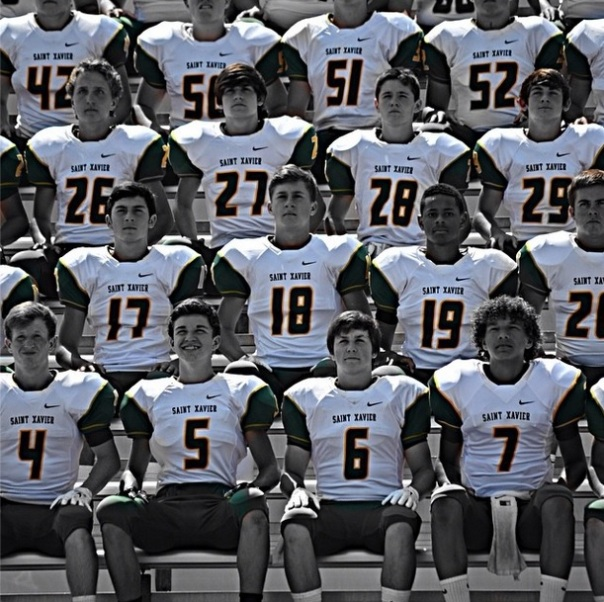 Matthew Logsdon posted this picture of him and his teammates in the JV Team Picture