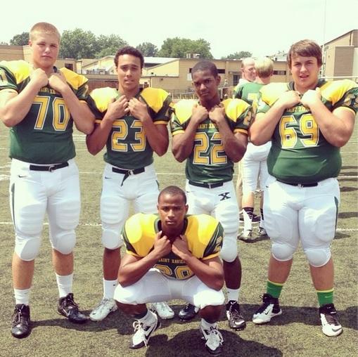 Tyler Haycraft, Chase Rowan, Taijon Smith, Matthew Boeckmann and Josh Russell look ready to go!