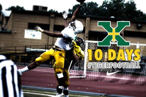 10 Days until Tiger Football