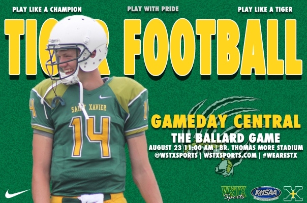Ballard Football Gameday Central Graphic
