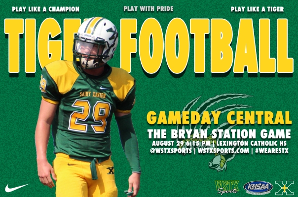 Bryan Station Gameday Central Graphic