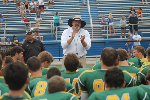 Head Coach Will Wolford | Photo by Jacob Hayslip