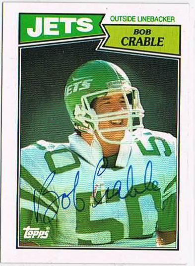 Bob Crable was a linebacker for the New York Jets. | Photo via