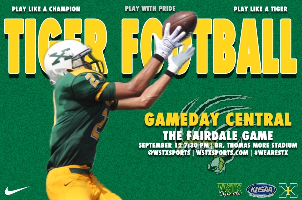 Fairdale Gameday Central Graphic