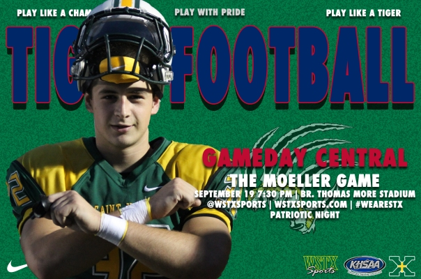 Moeller Football Gameday Central Graphic