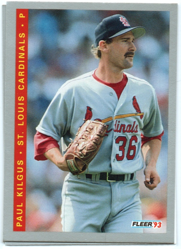A Paul Kilgus trading card while he was a member of the St. Louis Cardinals. | Photo via krispaulw.com