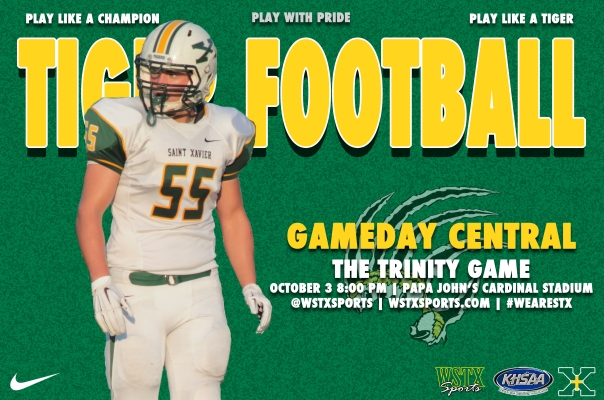 Trinity Football Gameday Central Graphic