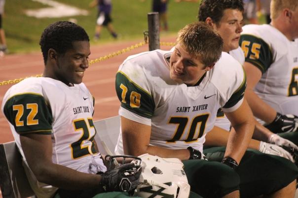 Tyler Haycraft and TaiJon Smith will go to work Friday night against Fairdale on Senior Night. | Photo by Jacob Hayslip
