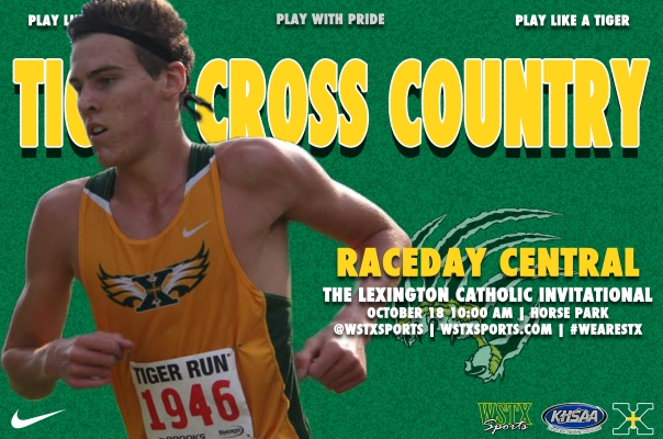 Lexington Catholic Invitational Raceday Central Graphic