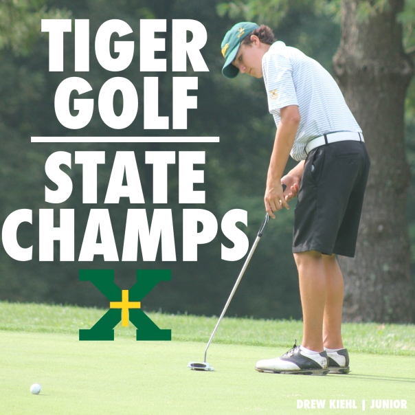 Tiger Golf State Champions