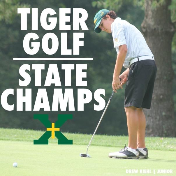 Tiger Golf State Champions