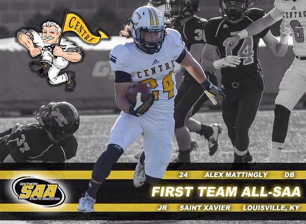 Alex Mattingly All-SAA
