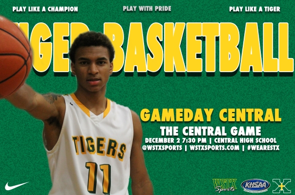 Central 2014 Basketball Gameday Central Graphic