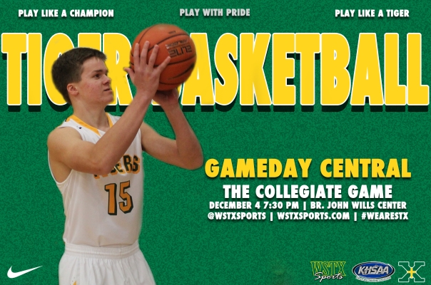 Collegiate 2014 Basketball Gameday Central Graphic