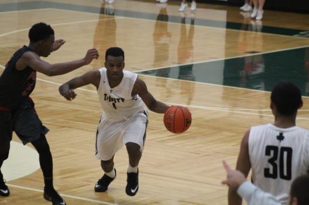 D'Angelo West can fill it up in a hurry coming off the bench for the Rocks. | Photo by Jacob Hayslip