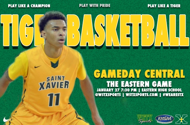 Eastern 2015 Basketball Gameday Central Graphic