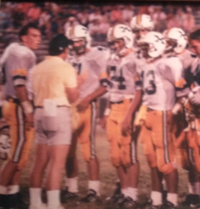 It is so great to have Coach Glaser on Instagram because we get throwback pictures like this that are gold.   Photo via @mglaser63