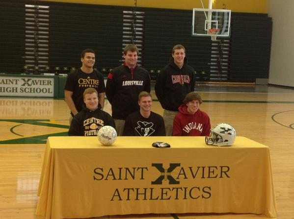 Six Tiger Athletes ink their papers with their new schools. | @WSTXSports