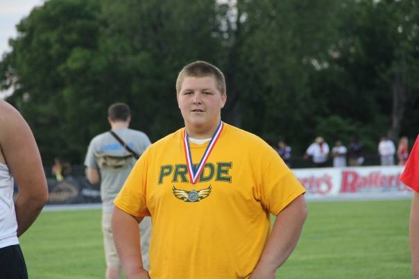 Jake Glass will be a force to be reckoned with in the Discus and Shot Put. | Photo by Jana Bollinger