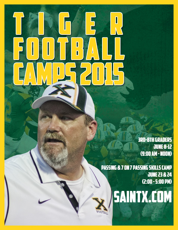 2015 Tiger Football Camps