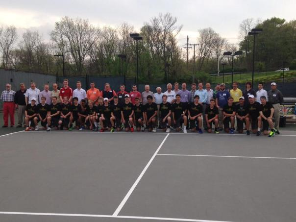Huge group of Former Tigers gathered to watch the 2015 Tiger Tennis Team | WSTX Sports File Photo
