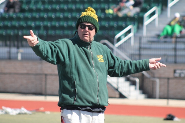 St. X Head Coach Scott Howe knows a thing or two about beating Trinity. | Photo by Jacob Hayslip