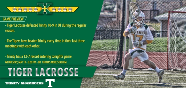 Trinity Tiger Lacrosse Game Preview
