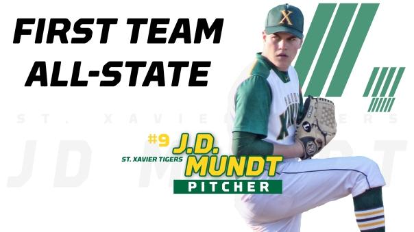 JD Mundt 1st team ALL STATE