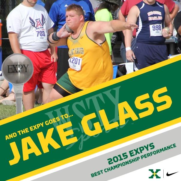 JAKE GLASS 2015 EXPYS Winners