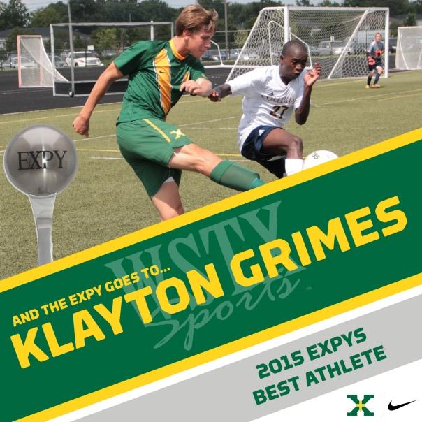 KLAYTON GRIMES 2015 EXPYS Winners