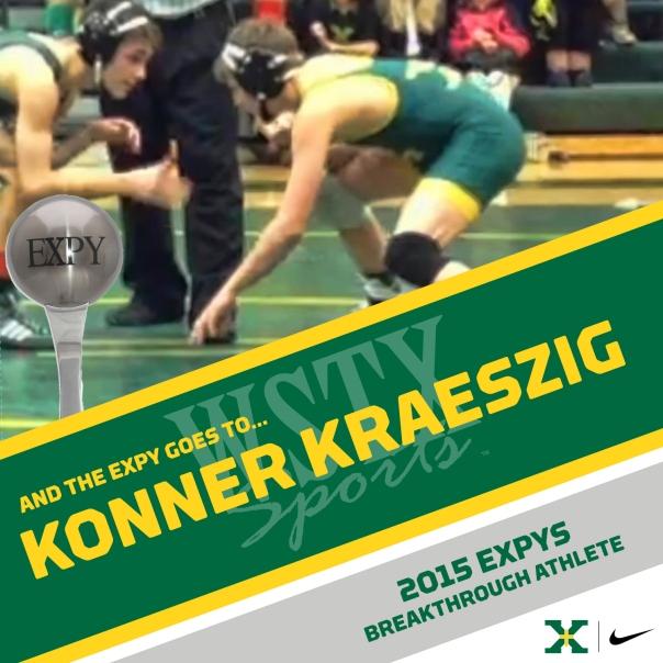 Konner Kraeszig 2015 EXPYS Winners