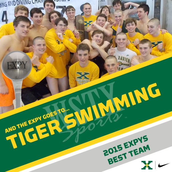 TIGER SWIMMING 2015 EXPYS Winners