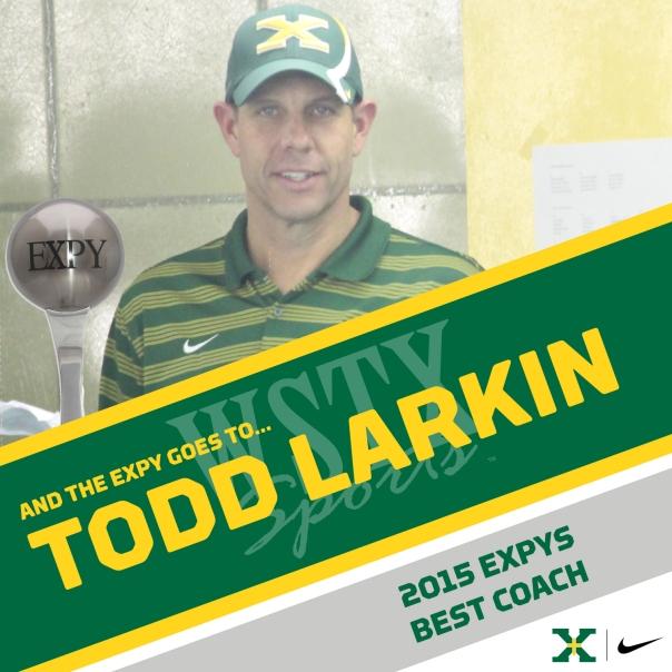 TODD LARKIN 2015 EXPYS Winners