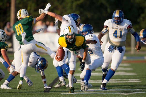 Junior QB Desmond Ridder | Photo by Jonathan Palmer | Herald Leader