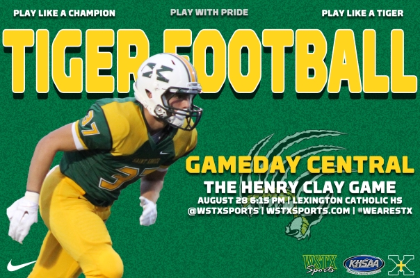 Henry Clay 2015 Football Gameday Central Graphic