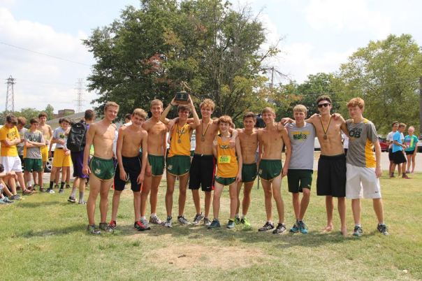 Tiger Cross Country won Tiger Run Saturday in the opening meet of the year | Photo by Jana Bollinger