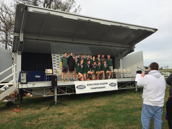 2015 Cross Country State Champions