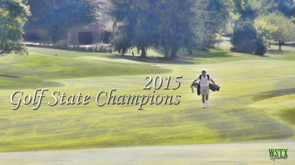 2015 Golf State Champions