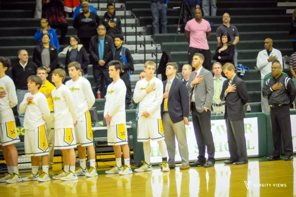 Tiger Basketball before the Eastern game on Tuesday | Photo by Khoa Nguyen | Varsity Views